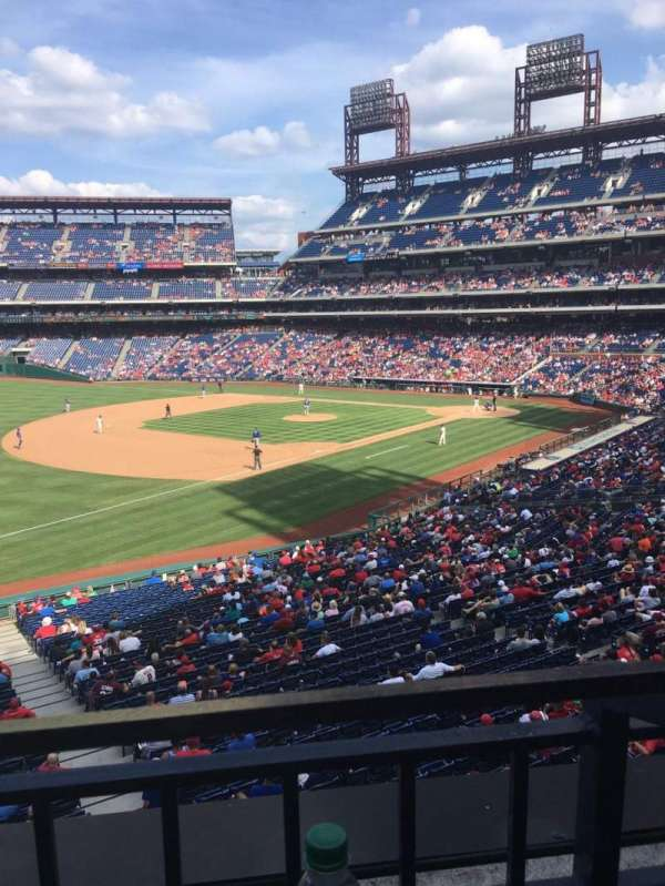 Citizens Bank Park, secção: Suite 9, fila: 1, lugar: 4