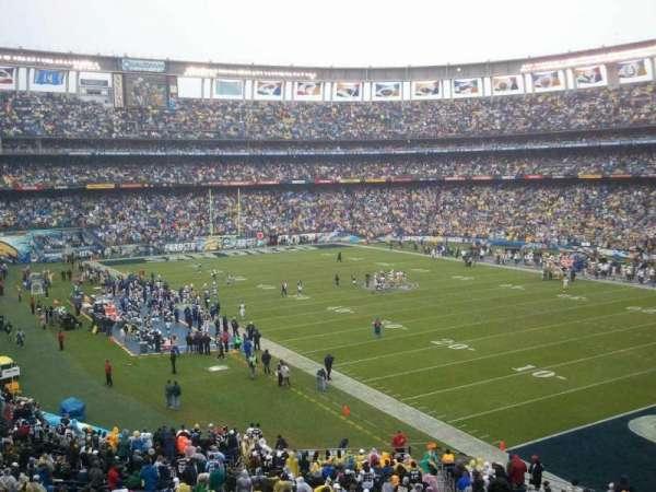 San Diego Stadium, secção: P46, fila: 1, lugar: 7