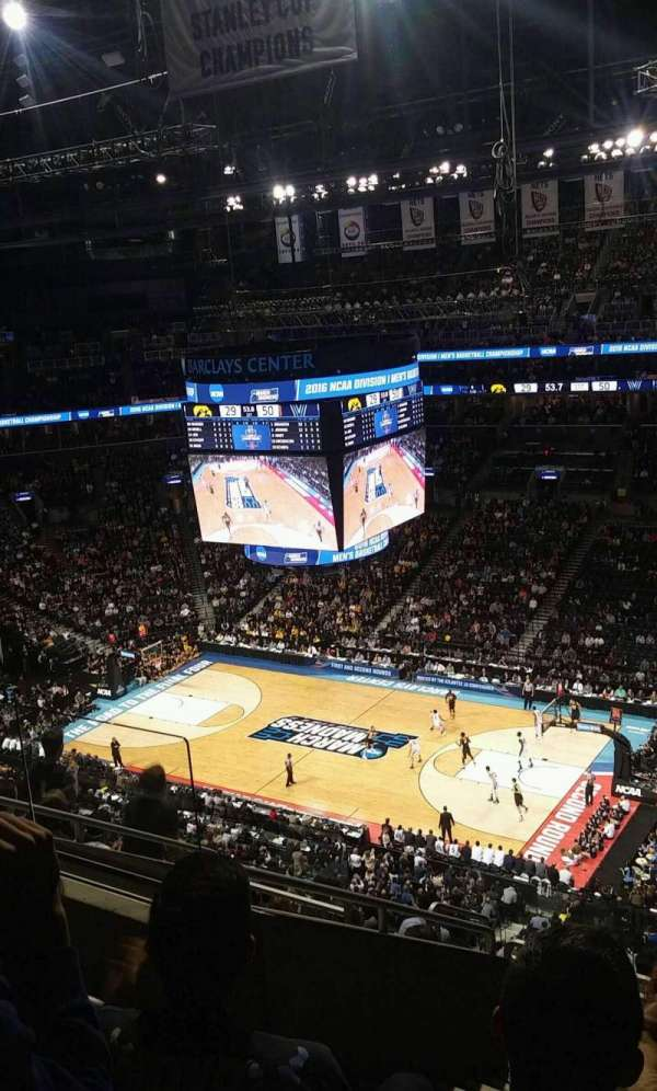Barclays Center, secção: 205, fila: 10, lugar: 10