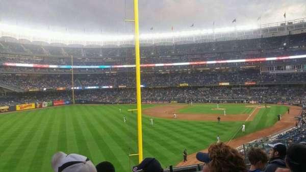 Yankee Stadium, secção: 232b, fila: 6, lugar: 8