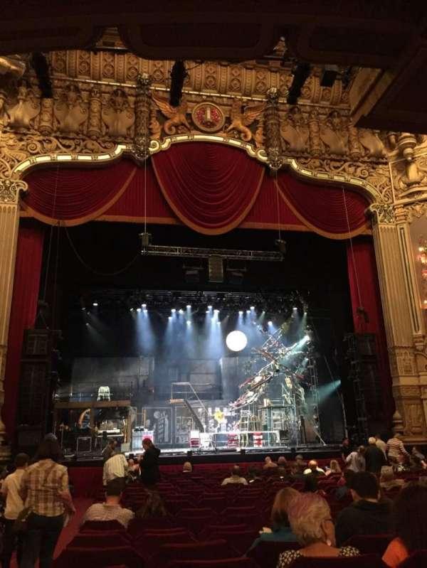 Nederlander Theatre (Chicago), secção: Orchestra C, fila: U, lugar: 101