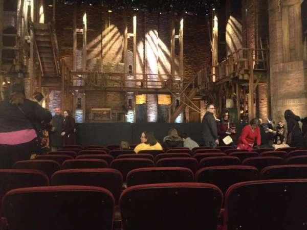 CIBC Theatre, secção: Orchestra C, fila: K, lugar: 103