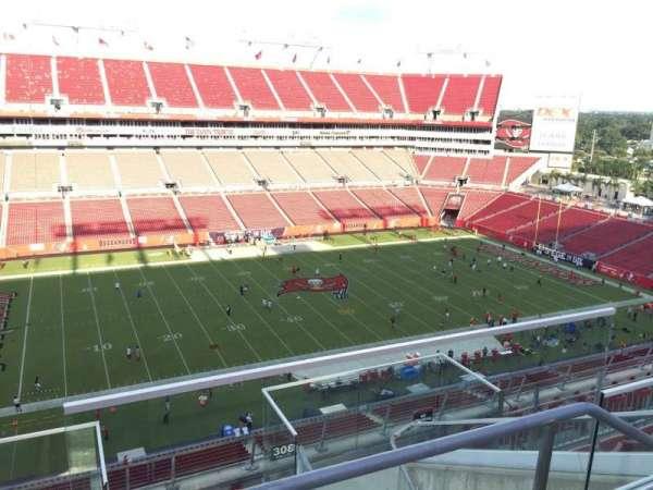 Raymond James Stadium, secção: 307, fila: E, lugar: 24