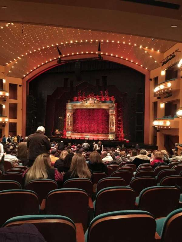 Procter And Gamble Hall at the Aronoff Center, secção: Rear Orchestra R, fila: X, lugar: 307