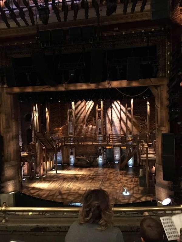 CIBC Theatre, secção: Mezzanine RC, fila: C, lugar: 316