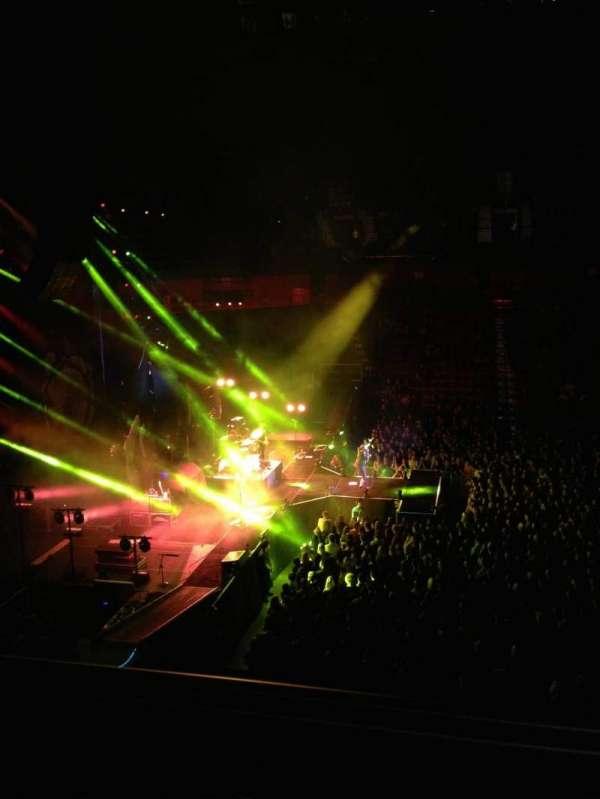 Mohegan Sun Arena, secção: 119, fila: A, lugar: 3