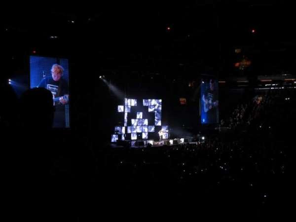 Madison Square Garden, secção: 117, fila: 9, lugar: 16