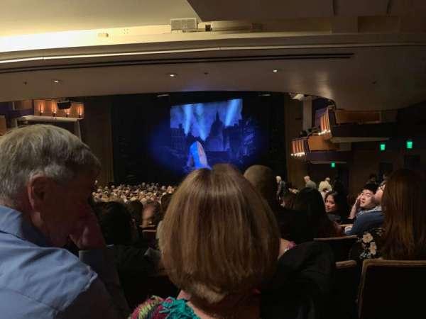 Ahmanson Theatre, secção: Rear Orchestra, fila: Y, lugar: 3