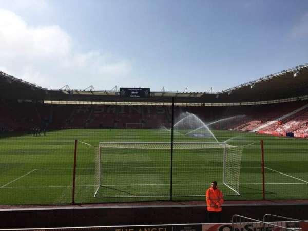 St Mary's Stadium, secção: 43, fila: K, lugar: 1121