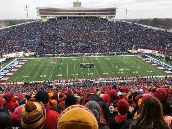 Liberty Bowl Memorial Stadium, secção: 105, fila: 94, lugar: 5