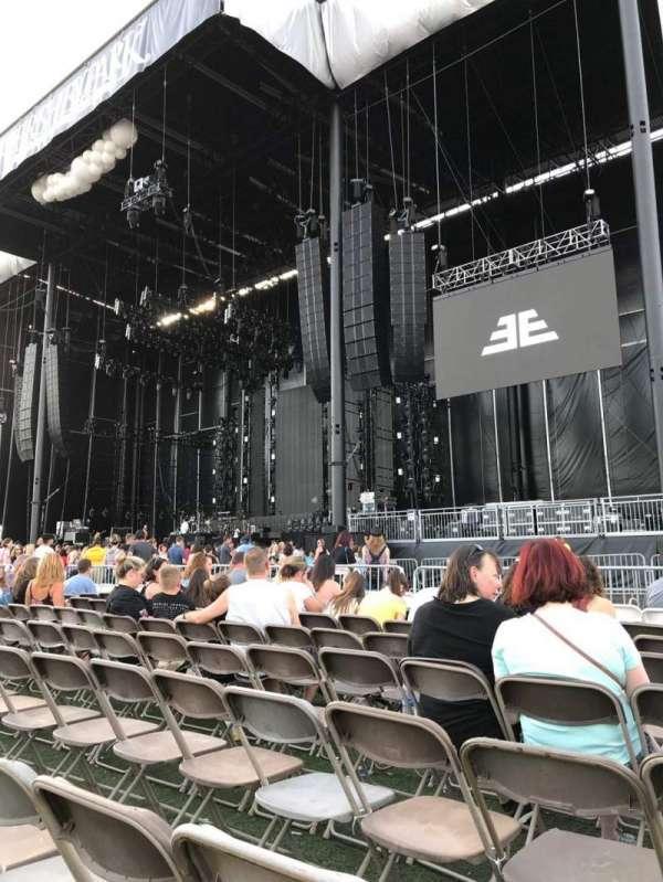 Hershey Park Stadium, secção: A, fila: 8, lugar: 41