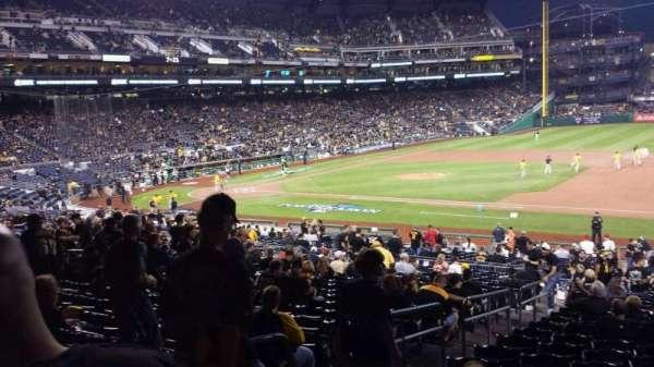 PNC Park, secção: 108, fila: Y, lugar: 20