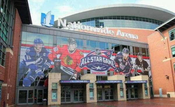Nationwide Arena, secção: Outside