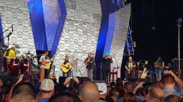 PNC Music Pavilion, secção: GA Pit