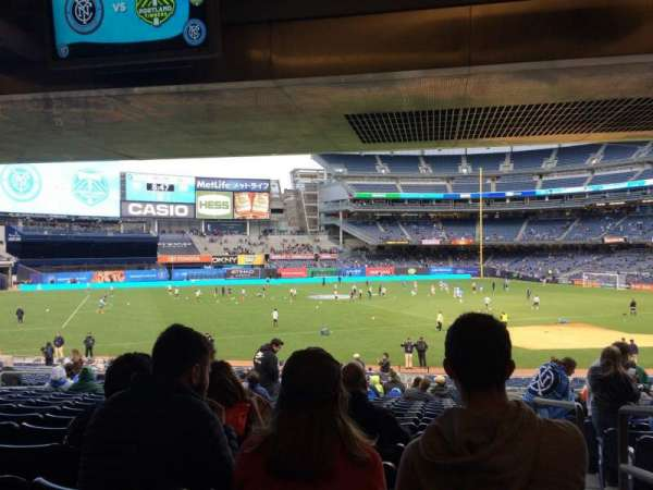 Yankee Stadium, secção: 127a, fila: 30, lugar: 1