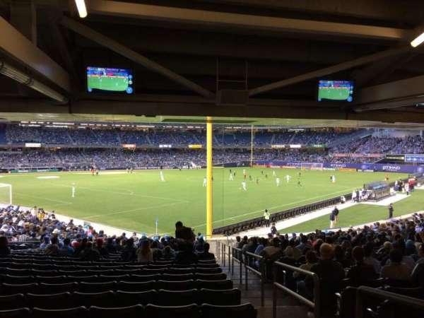 Yankee Stadium, secção: 108, fila: 30, lugar: 1