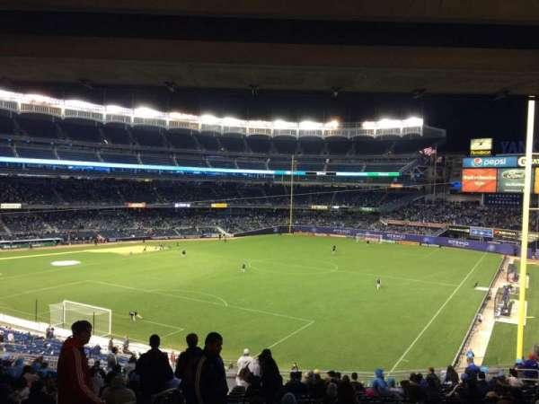 Yankee Stadium, secção: 209, fila: 19, lugar: 18