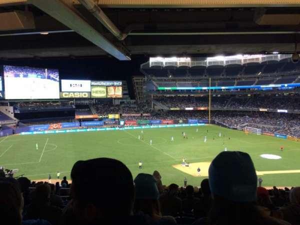 Yankee Stadium, secção: 227a, fila: 23, lugar: 10