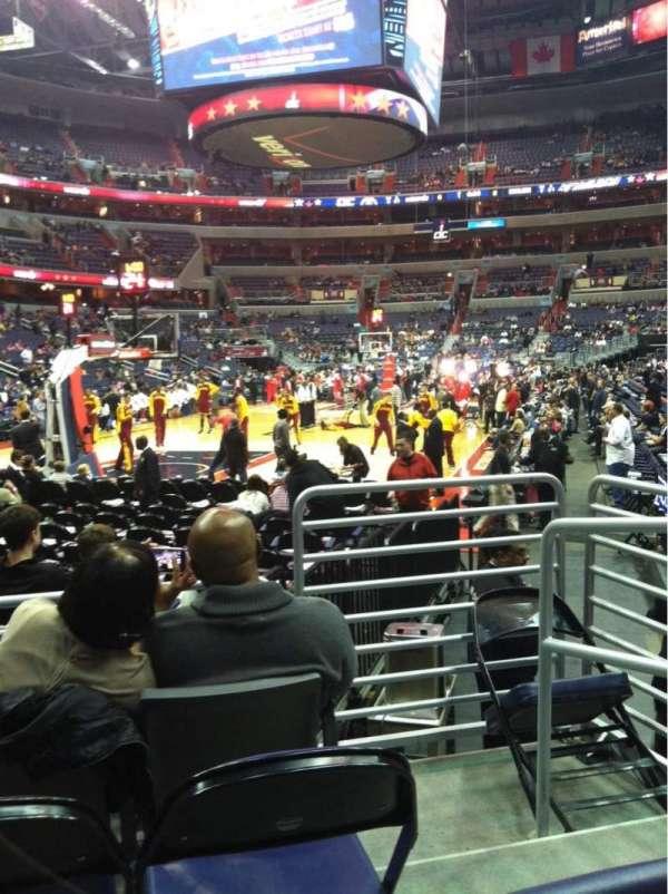 Capital One Arena, secção: 118, fila: D, lugar: 5