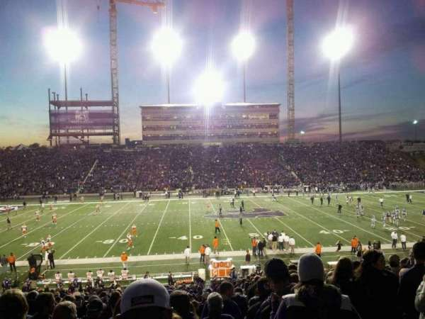 Bill Snyder Family Stadium, secção: 23, fila: 34, lugar: 2