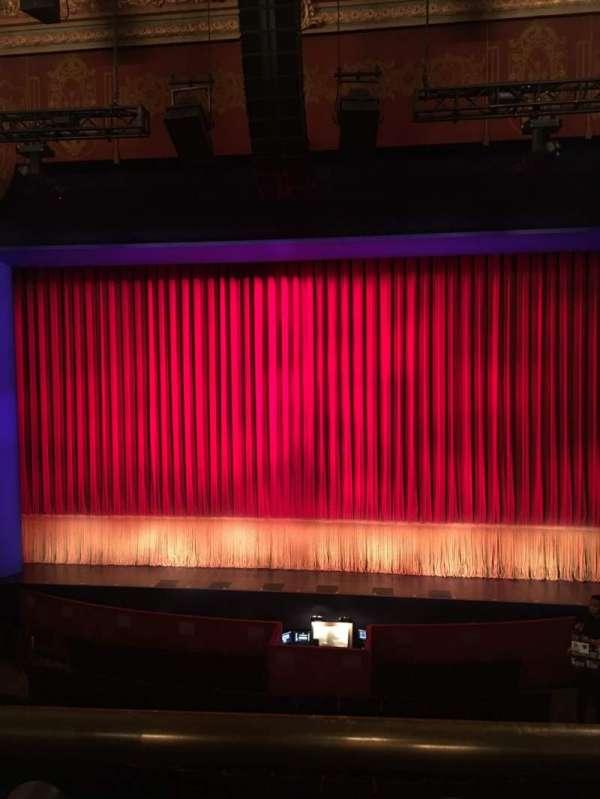 Longacre Theatre, secção: Mezzanine C, fila: A, lugar: 104