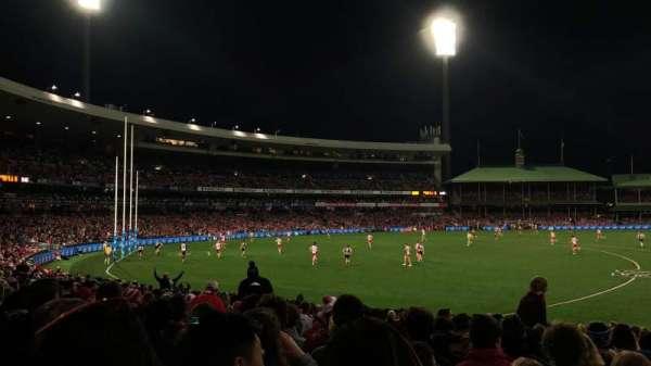 Sydney Cricket Ground, secção: 12, fila: Y, lugar: 9