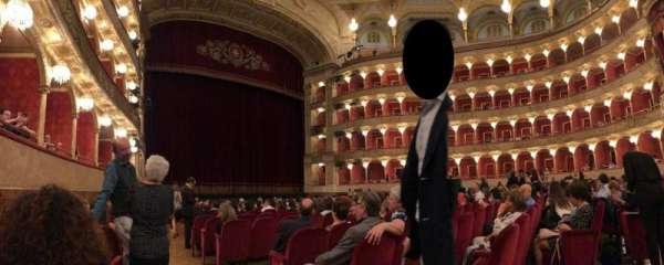 Teatro dell'Opera di Roma, secção: Poltrone di Platea, fila: 14, lugar: 25