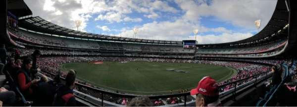 Melbourne Cricket Ground, secção: N23, fila: B, lugar: 10