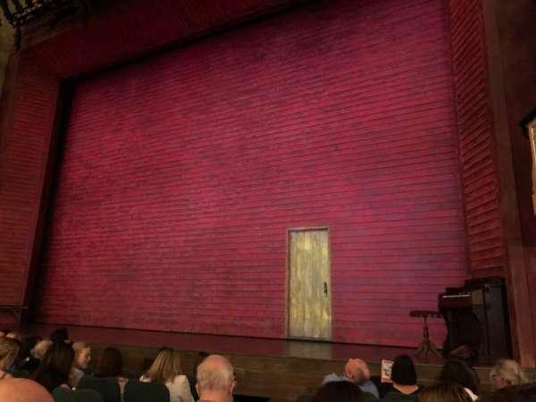 Shubert Theatre, secção: ORCHO, fila: H, lugar: 8