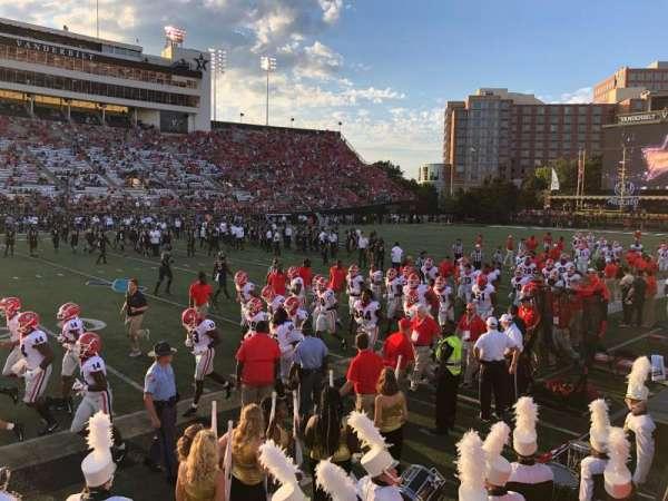 Vanderbilt Stadium, secção: P, fila: 6
