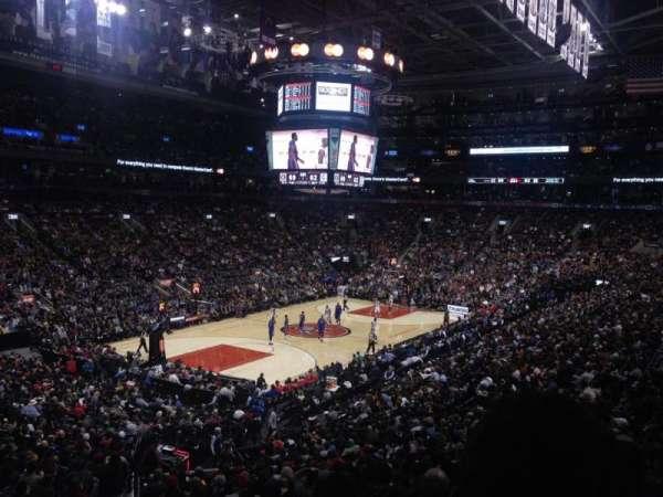 Scotiabank Arena, secção: 122, fila: 23, lugar: 19