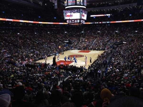 Scotiabank Arena, secção: 112, fila: 25, lugar: 11
