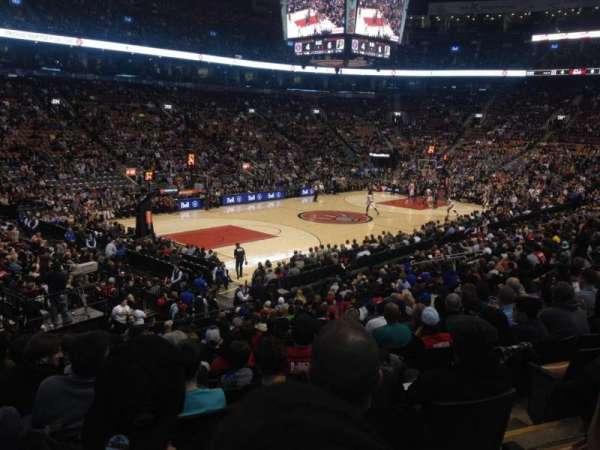 Scotiabank Arena, secção: 111, fila: 21, lugar: 2