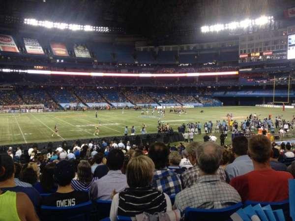Rogers Centre, secção: 114R, fila: 29, lugar: 10