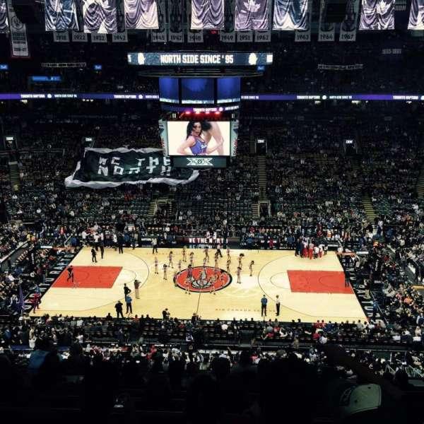 Scotiabank Arena, secção: 309, fila: 11, lugar: 6