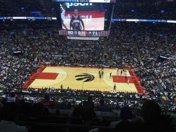 Scotiabank Arena, secção: 309, fila: 9, lugar: 5