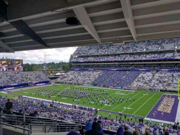 Husky Stadium, secção: 225, fila: 10, lugar: 16