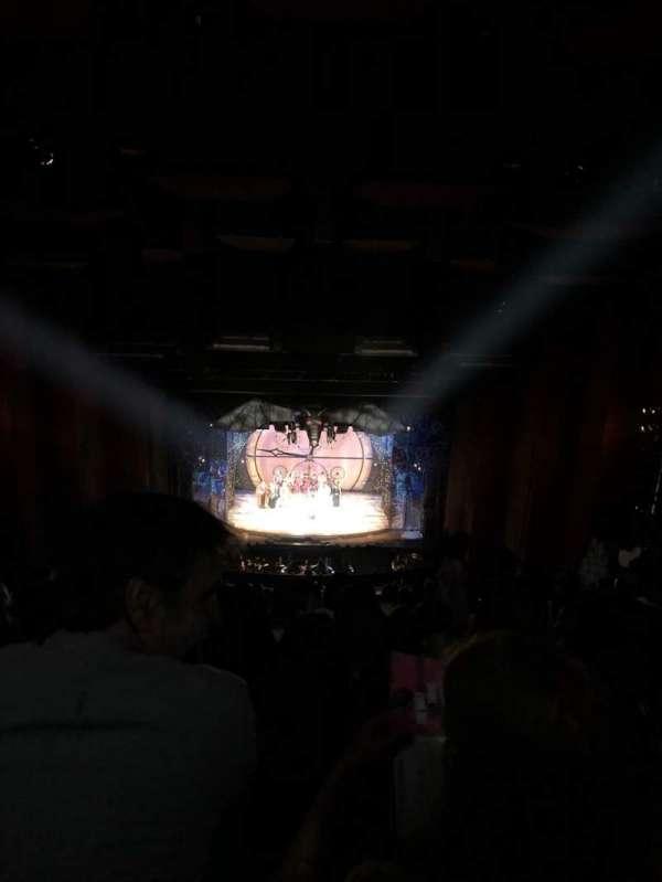 San Diego Civic Theatre, secção: Balcony C, fila: BB, lugar: 3