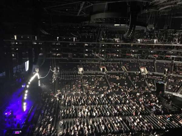 Staples Center, secção: 309, fila: 1, lugar: 6