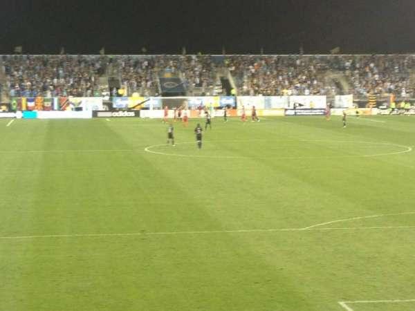 Talen Energy Stadium, secção: 118, fila: J, lugar: 17