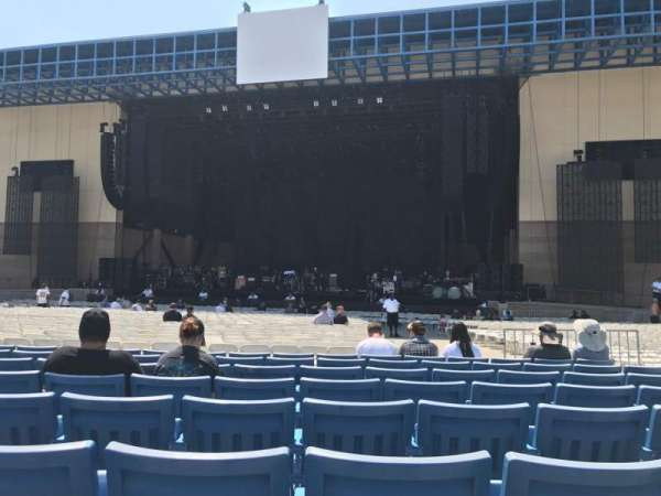 Glen Helen Amphitheater, secção: Orch, fila: EE, lugar: 7