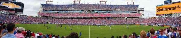 Nissan Stadium, secção: 135, fila: K, lugar: 13