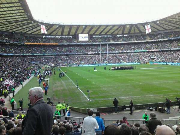 Twickenham Stadium, secção: L36, fila: 17, lugar: 281