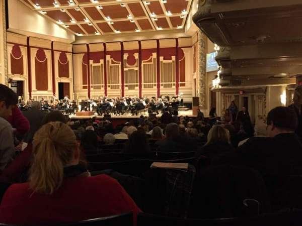 Heinz Hall, secção: Orchestra Right, fila: Z, lugar: 24