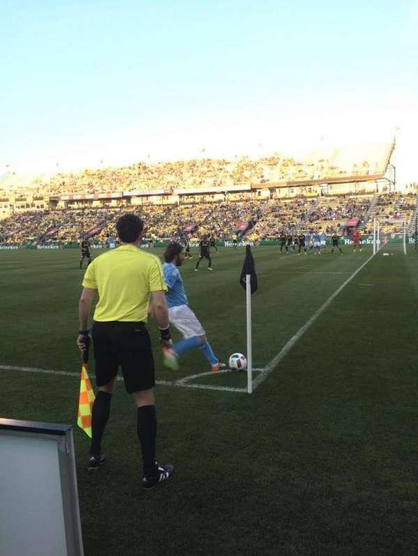 Mapfre Stadium, secção: 121, fila: 1, lugar: 3
