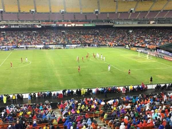RFK Stadium, secção: M35, fila: 1, lugar: 7