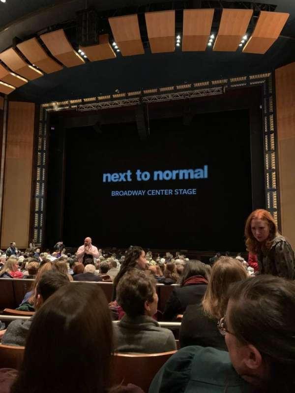 The Kennedy Center Eisenhower Theater, secção: Orchestra, fila: S, lugar: 101
