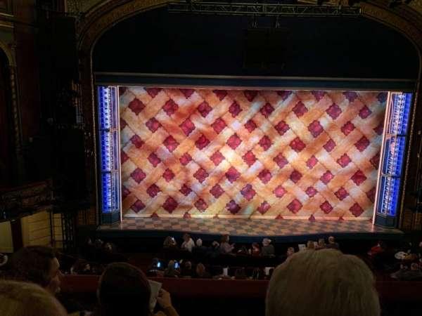 Brooks Atkinson Theatre, secção: Front Mezzanine C, fila: C, lugar: 103