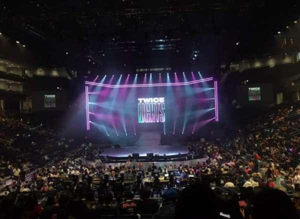 Wintrust Arena, secção: 102, fila: P, lugar: 5