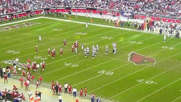 State Farm Stadium, secção: 407, fila: b, lugar: 21